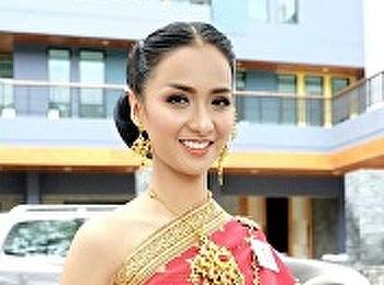 น้องเมย์ มยุรา การประกวดมิสแกรนด์นครปฐม 2018 รอบการประกวดรอบการเดินแฟชั่นชุดไทย