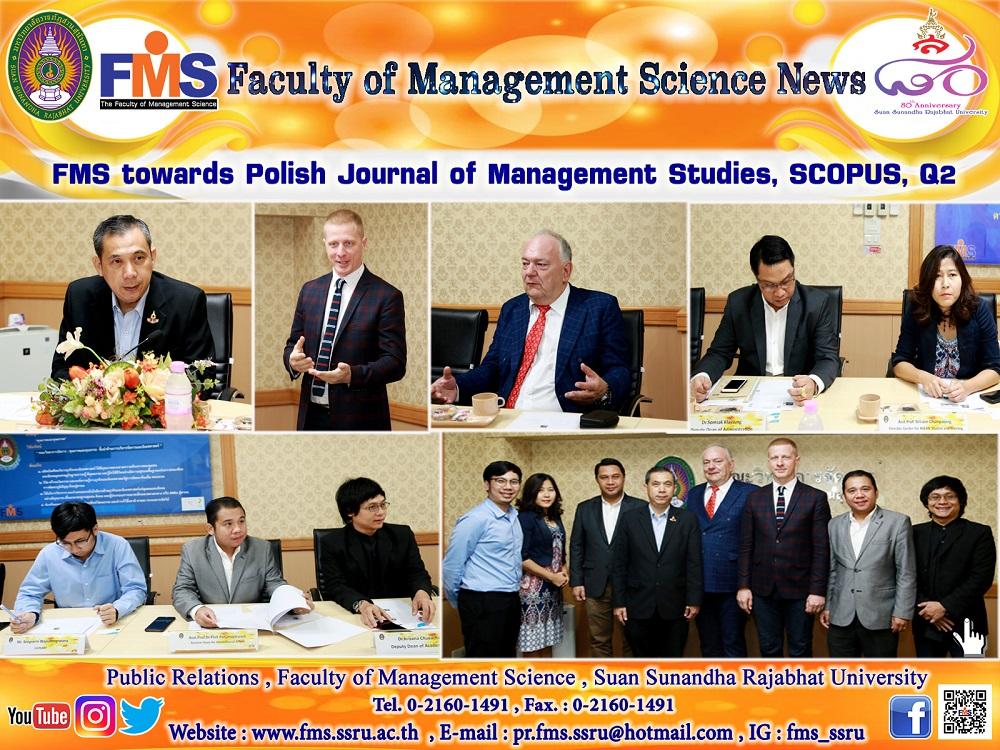 FMS towards Polish Journal of Management Studies, SCOPUS, Q2