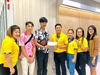 Club behind the lens Faculty of Management Science Suan Sunandha Rajabhat University went to receive support checks from EGAT